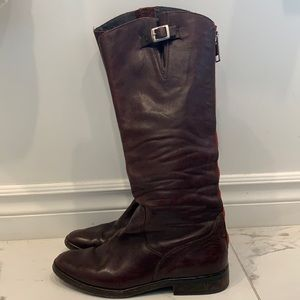 Golden Goose Brown Leather Boots Size 37